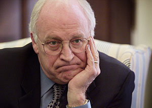 cheney energy policy downhill